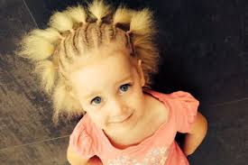 girl hair meet the adorable girl with incredibly uncombable