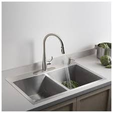 Top Mounted Kitchen Sinks by Kohler Vault 33
