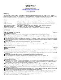Wpf Developer Resume Sample by Senior Software Engineer Resume Berathen Com