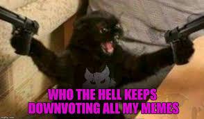 Troll Meme Maker - cat with guns memes imgflip