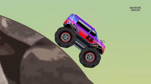 monster truck cartoon videos monster truck stunts kids toy big truck trucks cartoon
