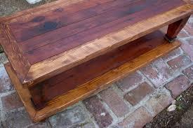 handmade wood coffee table 15 the best handmade wooden coffee tables