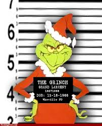 the grinch who stole christmas coloring pages grinch mugshot famous villains we love to pinterest