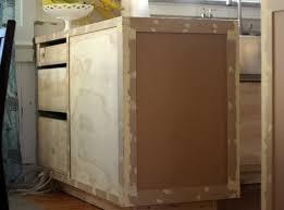 kitchen cabinet face frame end panel