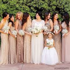 wedding dresses for bridesmaids chagne colored bridesmaid dresses wedding regal
