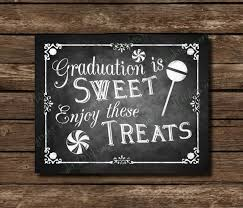 graduation sign printable graduation is sweet chalkboard graduation sign or card
