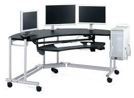 40 Computer Desk Desk Black Glass Corner Computer Desk Uk Wondrous 40 Stupendous
