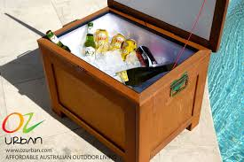 set trend in your street with a timber ice chest u2013 ozurban