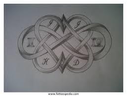 infinity tribal tattoo designs 7