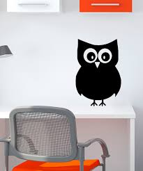 Chalk Board Wall Stickers Inspire Your Walls Owl Chalkboard Wall Decal Zulily