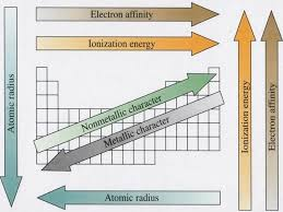 periodic trends each horizontal row is called a period because it