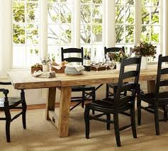pottery barn farmhouse table pottery barn farmhouse dining room table design ideas charming style