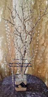 manzanita trees sale bling manzanita tree centerpiece silver glitter bling