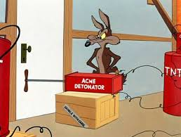 Wile E Coyote Meme - chuck jones 9 golden rules for the coyote and the road runner