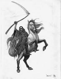 fourth horseman death by nortenyo on deviantart