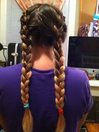 how to i french plait my own side hair sleep on it french braids to beach waves