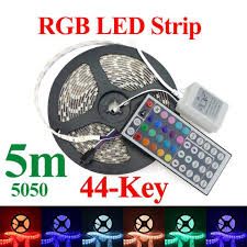 onsale onsale led strip 5050 waterproof rgb 5m 300leds roll 44 keys