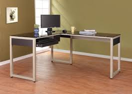 L Shaped Table Desk Homelegance Network Computer Desk L Shape 4867