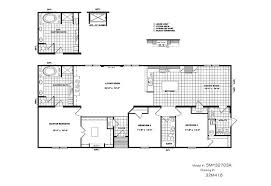 Home Floor Plans Texas Cmh Schult Tyler Smh32703a Mobile Home For Sale