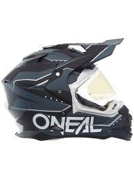 motocross helmet with visor oneal black 2018 sierra ii slingshot mx helmet oneal