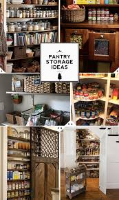 the walk in closet of the kitchen pantry storage ideas home