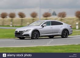 Emden Germany 12th Apr 2017 A New Vw Arteon Can Be Seen On A