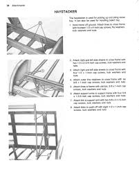 deere 148 158 168 farm loader operators manual