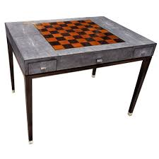 contemporary chess table residential stingplay tb ginger brown