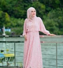 Baju Muslim Brokat baju muslim brokat syar i fashion muslim modern