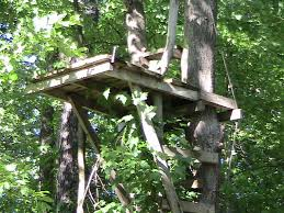2 Person Deer Blind Plans Tree Stand