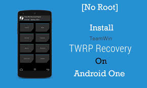 backup apk without root no root install twrp on android one