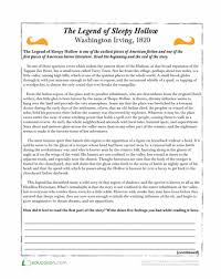 ideas collection halloween reading comprehension worksheets 5th
