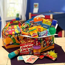 gift baskets for kids kids just wanna care package gourmet