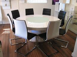 round table with lazy susan built in nice ideas lazy susan for dining table amazing design large round
