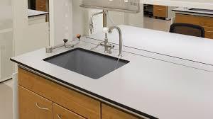 Resin Kitchen Sinks Laboratory Work Tops Sinks In Epoxy Trespa A T Villa