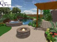 Custom Backyards Custom Outdoors Swimming Pools And More Serving The Greater