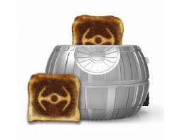 Bread Toasters Star Wars Death Star Toaster Toasts A Tie Fighter Onto Each