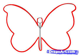2 how to draw a simple butterfly