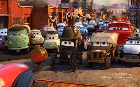 cars sarge and fillmore our exclusive review of radiator springs 500 the characters