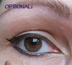 tutorial winged eyeliner for deep set eyes