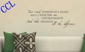 Aliexpresscom  Buy Free Shipping The Famous English Poem Wall - Family room wall decals
