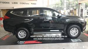 mitsubishi pajero dakar 2017 harga pajero ultimate u0026 promo paket kredit dp super hemat all new