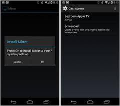 android screencast mirror beta app on android 4 4 2 root does screencast airplay