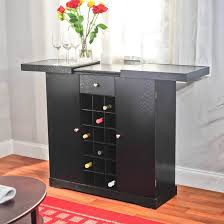 Black Bar Cabinet Creative Kitchen Cabinet Diy Wine Rack Hanging Wine Shelf