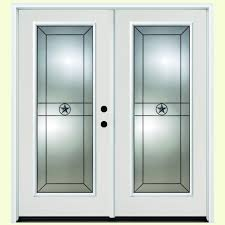 Flashing Patio Door by Steves U0026 Sons 60 In X 80 In Primed White Fiberglass Prehung Left