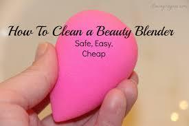how i clean my beauty blender sponge youtube