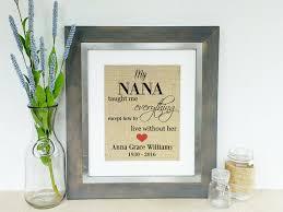 condolence gift ideas personalized memorial gift for of nana tribute gift idea