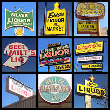 Liquor Signs Luis Obispo Is A Palace Of Kitsch