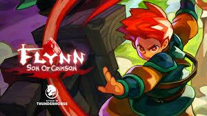 flynn son of crimson fast paced 2d action platformer by studio