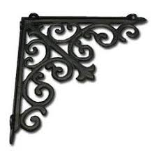 home depot decorative shelf brackets rubbermaid 6 in l x 8 in h black steel vine decorative shelf